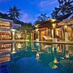 Отель The Emerald Beach Villa 4 Таиланд, Самуи - отзывы, цены и фото номеров - забронировать отель The Emerald Beach Villa 4 онлайн бассейн