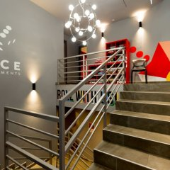 Отель Dice Apartments Венгрия, Будапешт - отзывы, цены и фото номеров - забронировать отель Dice Apartments онлайн интерьер отеля