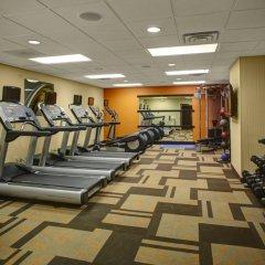 Отель Courtyard Columbus Downtown фитнесс-зал фото 2