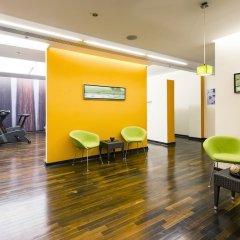 Отель Meliá Düsseldorf Германия, Дюссельдорф - 1 отзыв об отеле, цены и фото номеров - забронировать отель Meliá Düsseldorf онлайн фитнесс-зал фото 4
