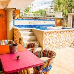 Отель Agavero Hostel Мексика, Канкун - отзывы, цены и фото номеров - забронировать отель Agavero Hostel онлайн бассейн фото 4