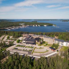 Отель Imatran Kylpylä Spa Apartments Финляндия, Иматра - 1 отзыв об отеле, цены и фото номеров - забронировать отель Imatran Kylpylä Spa Apartments онлайн пляж