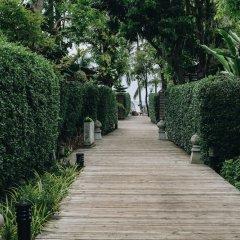Отель Tango Luxe Beach Villa Samui Таиланд, Самуи - 1 отзыв об отеле, цены и фото номеров - забронировать отель Tango Luxe Beach Villa Samui онлайн приотельная территория фото 2