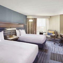 Отель Hilton Newark Airport США, Элизабет - отзывы, цены и фото номеров - забронировать отель Hilton Newark Airport онлайн комната для гостей фото 4