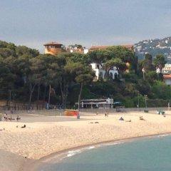 Отель Rigat Park & Spa Hotel Испания, Льорет-де-Мар - отзывы, цены и фото номеров - забронировать отель Rigat Park & Spa Hotel онлайн пляж фото 2