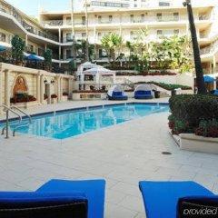 Отель Beverly Hills Plaza Hotel США, Лос-Анджелес - отзывы, цены и фото номеров - забронировать отель Beverly Hills Plaza Hotel онлайн бассейн фото 3