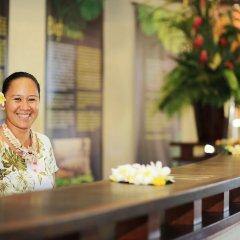 Отель Tahiti Pearl Beach Resort Французская Полинезия, Аруе - отзывы, цены и фото номеров - забронировать отель Tahiti Pearl Beach Resort онлайн питание фото 3