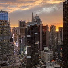 Отель Sheraton New York Times Square США, Нью-Йорк - 1 отзыв об отеле, цены и фото номеров - забронировать отель Sheraton New York Times Square онлайн балкон