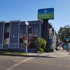 Отель Rodeway Inn Los Angeles парковка