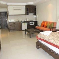 Отель Sooksabai Jomtien Beach Таиланд, Паттайя - отзывы, цены и фото номеров - забронировать отель Sooksabai Jomtien Beach онлайн комната для гостей фото 4