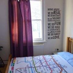Отель Saint James Backpackers Великобритания, Лондон - отзывы, цены и фото номеров - забронировать отель Saint James Backpackers онлайн комната для гостей фото 2