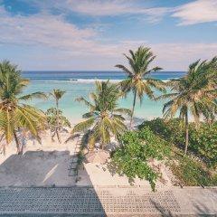 Hotel Lonuveli пляж