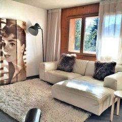 Апартаменты Gstaad Perfect Winter Luxury Apartment комната для гостей фото 2