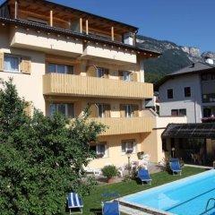 Отель Pensione Penegalblick Аппиано-сулла-Страда-дель-Вино бассейн фото 3