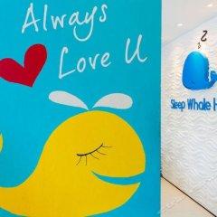 Отель Sleep Whale Express Таиланд, Краби - отзывы, цены и фото номеров - забронировать отель Sleep Whale Express онлайн интерьер отеля фото 2