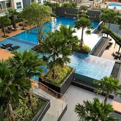 Отель The Trust Condo South Pattaya Таиланд, Паттайя - отзывы, цены и фото номеров - забронировать отель The Trust Condo South Pattaya онлайн бассейн фото 2