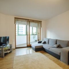 Апартаменты Warsaw Panorama Apartment комната для гостей фото 2