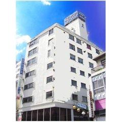 Takasaki Ekimae Plaza Hotel Томиока вид на фасад