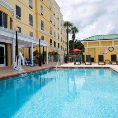 Отель Hampton Inn & Suites Lake City, Fl Лейк-Сити бассейн фото 2