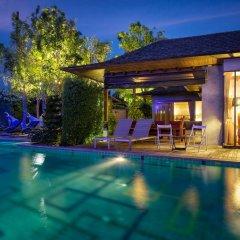 Отель Tango Luxe Beach Villa Samui Таиланд, Самуи - 1 отзыв об отеле, цены и фото номеров - забронировать отель Tango Luxe Beach Villa Samui онлайн бассейн фото 2