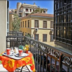 Dioskouros Hostel балкон