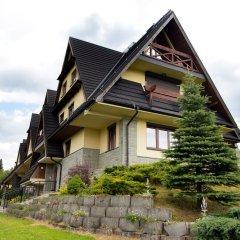 Отель InspiroApart Giewont Lux - Sauna i Basen Косцелиско вид на фасад