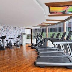 Отель Le Meridien New Delhi Нью-Дели фитнесс-зал фото 2