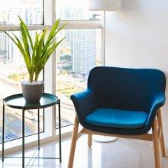 Отель Stunning 4 BDR Penthouse in Dubai Marina фитнесс-зал фото 2