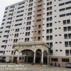Отель JS Tower Service Apartment Таиланд, Бангкок - отзывы, цены и фото номеров - забронировать отель JS Tower Service Apartment онлайн вид на фасад