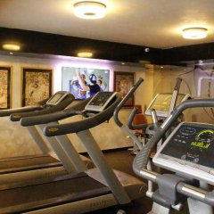 Отель Анел фитнесс-зал фото 4