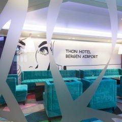 Thon Hotel Bergen Airport интерьер отеля