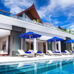 Отель Villa Padma бассейн