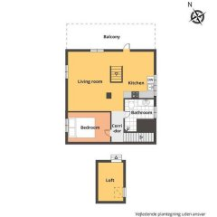 Апартаменты CPH Villa Apartment в номере фото 2