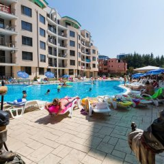 Апартаменты Beach Family Apartment бассейн