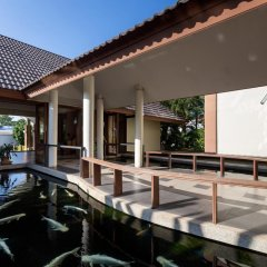 Отель Authong Residence Pattaya бассейн
