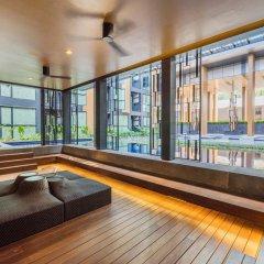 Отель THE BASE Height by Favstay фитнесс-зал фото 2