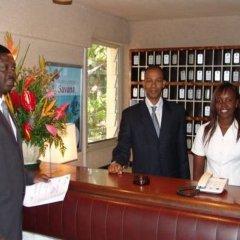 Hotel Jardin Savana Dakar интерьер отеля