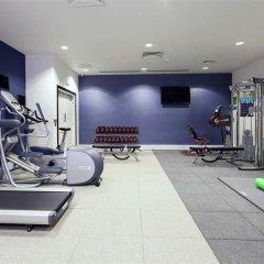 Отель Hampton by Hilton London Waterloo фитнесс-зал фото 4