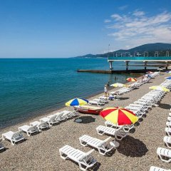 Гостиница Санаторно-курортный комплекс Знание пляж фото 3