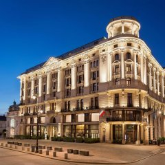 Hotel Bristol, A Luxury Collection Hotel, Warsaw вид на фасад фото 2