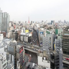 Отель remm Roppongi балкон