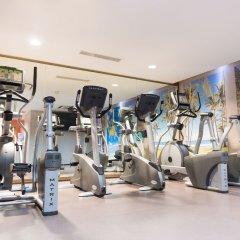 Отель Terrou Bi And Casino Resort Дакар фитнесс-зал