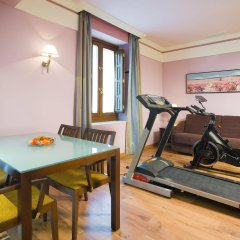 Отель Suites Gran Via 44 Apartahotel фитнесс-зал