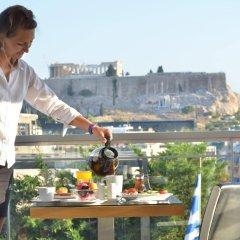 Acropolis Ami Boutique Hotel балкон