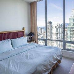 Отель Sky Residences Vancouver Канада, Ванкувер - отзывы, цены и фото номеров - забронировать отель Sky Residences Vancouver онлайн комната для гостей