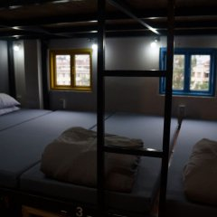 Grey Monkey Dalat Hostel Далат сейф в номере