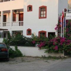 Отель Alba Marin парковка