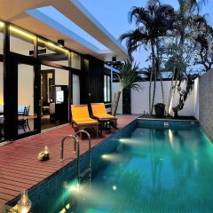 Отель Malisa Villa Suites бассейн