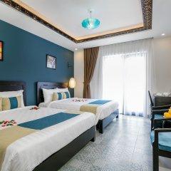 Отель Hoi An Golden Holiday Villa комната для гостей фото 5