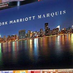 Отель New York Marriott Marquis США, Нью-Йорк - 8 отзывов об отеле, цены и фото номеров - забронировать отель New York Marriott Marquis онлайн городской автобус
